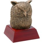 Owl Resin   t Mascot Resin Trophy Awards