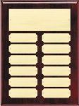 Rosewood High Gloss Perpetual Plaque (t) Monthly Perpetual Plaques