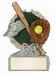 Softball Multi Color Sport Resin Figure  t Multi Color Sport Resin Trophy Awards