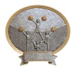 Legend Cheerleader Oval Award(19C21)  t Oval Resin Trophy Awards