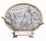 Legend Bowling Oval Award(19c5b) female  t Oval Resin Trophy Awards