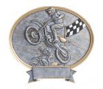 Legend Motocross Oval Award  t Oval Resin Trophy Awards