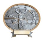 Legend Track & Field Oval Award  t Oval Resin Trophy Awards