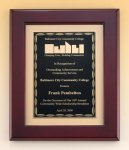 Rosewood Piano Finish  plaque  t Religious Awards