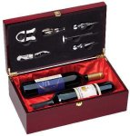 Rosewood Double Bottle Box (t) Secretary Gift Awards