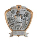 Signature Series Football Shield Award  t Signature Shield Resin Trophy Awards