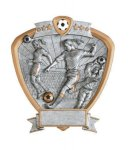 Signature Series Soccer Shield Awards(17A7)  t Signature Shield Resin Trophy Awards
