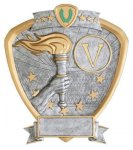 Signature Series Victory Shield Award  t Signature Shield Resin Trophy Awards