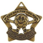 Soccer Fun Star   t Star Medal Awards
