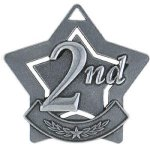 2nd Place Star Silver   t Star Medal Awards