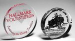 Paperweight Circle Traditional Acrylic Awards