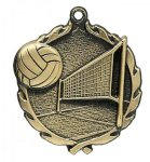 Wreath Volleyball Medals    t Wreath Medal Awards