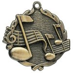 Wreath Music Medals    t Wreath Medal Awards